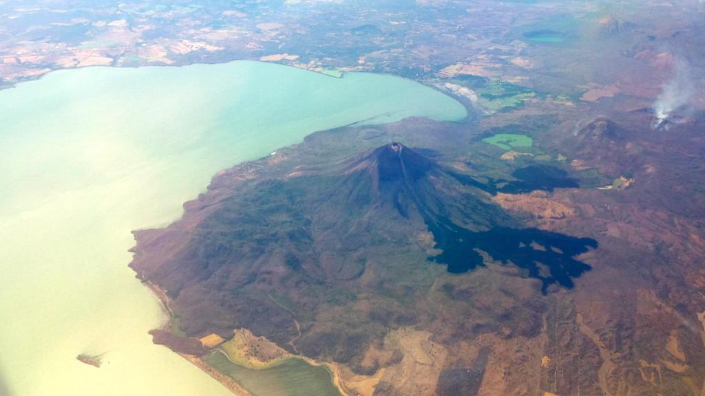 Der Vulkan Momotombo