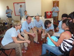 Gemeinsame Sprechstunde und Begutachtung der Patienten