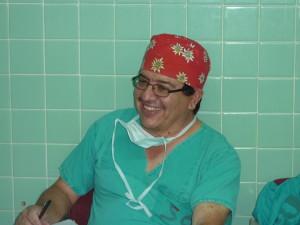 Dr. Roberto Ordoñez (Allgemeinchirurg in Somoto)