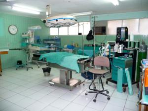 Operationsaal in Somoto